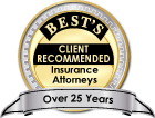 Best's Client Recommended Over 25 Years